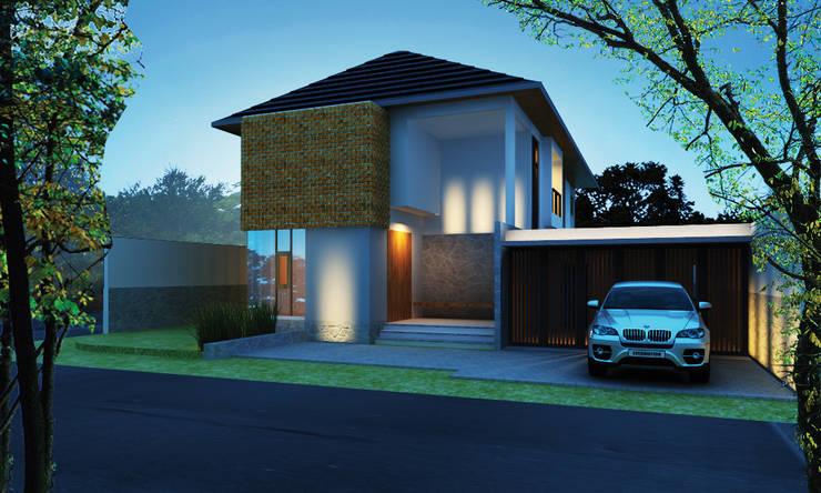 Permata Bumi House:   by Kahuripan Architect
