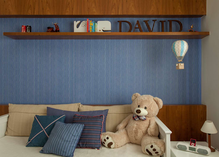 Dormitório Menino por Marcella Loeb Moderno