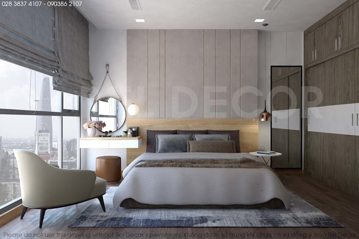 Project: HO17108 Modern Apartment/ Bel Decor:   by Bel Decor