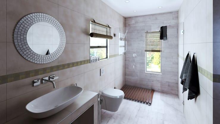 Bathroom:  Bathroom by 7Storeys, Modern