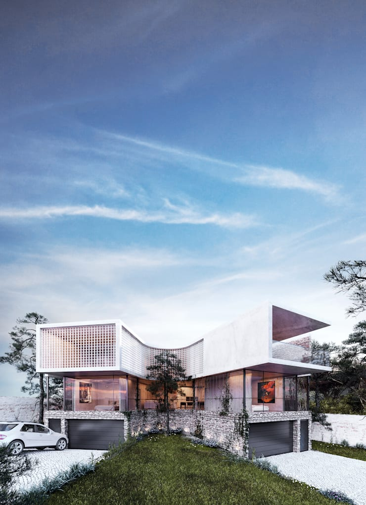 Exterior View:  Villas by 7Storeys, Minimalist
