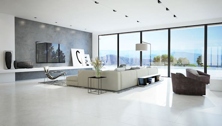 Living room by Anton Neumark, Minimalist