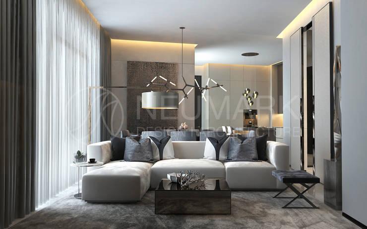 Living room by Anton Neumark, Minimalist