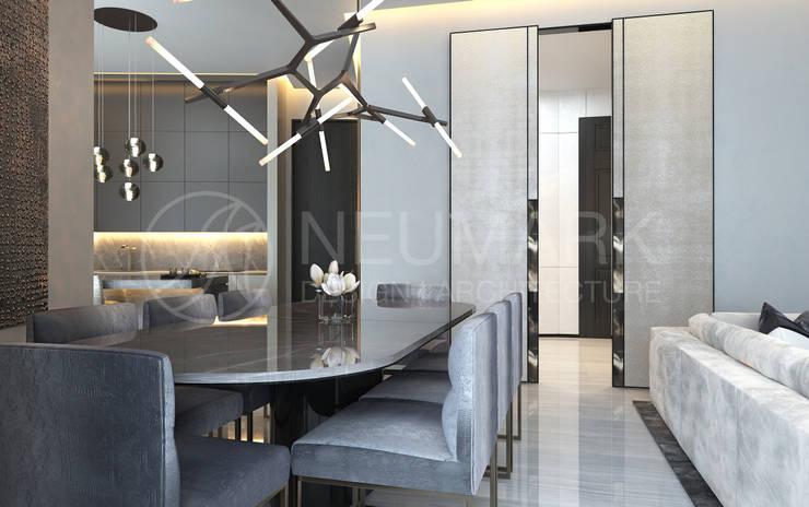 Dining room by Anton Neumark, Minimalist