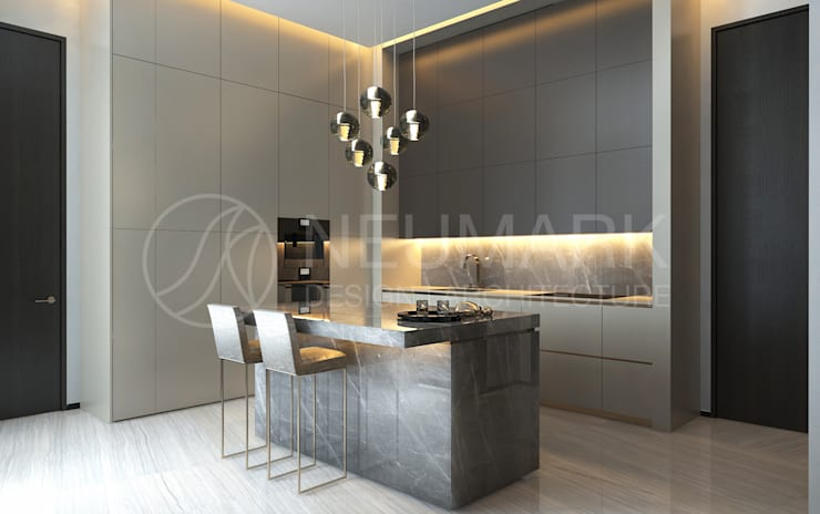 Kitchen by Anton Neumark, Minimalist