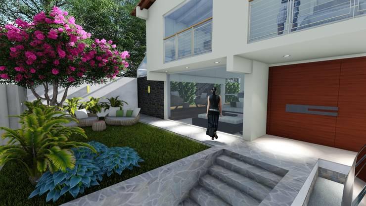 Remodelacion fachada principal: Casas unifamiliares de estilo  por Vida Arquitectura