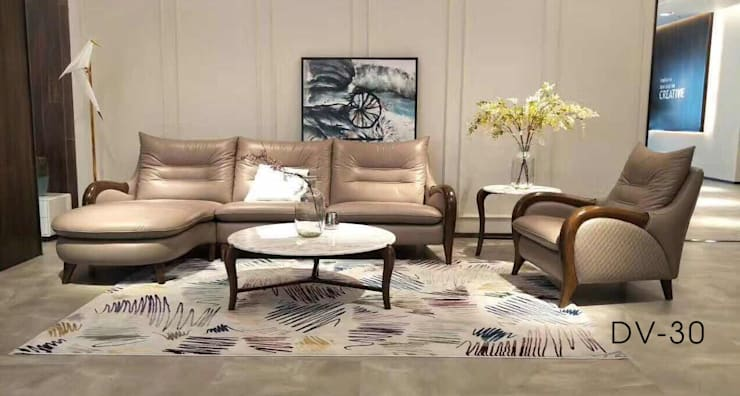 Ghế Sofa:  Khu Thương mại by Nội thất Divanni
