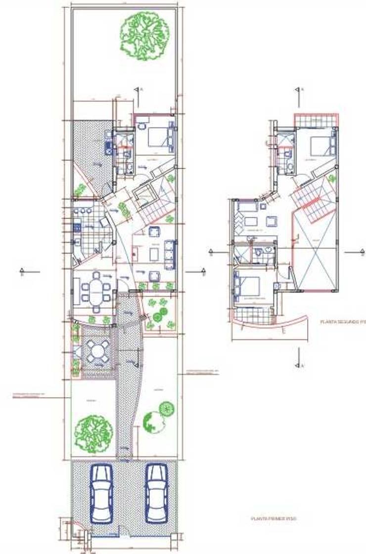 Plantas arquitectónicas: Habitaciones de estilo moderno por MSA Arquitectos