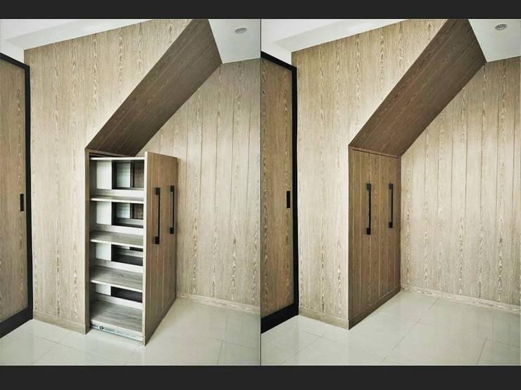 璞舍-0N.5室:  書房/辦公室 by 喬克諾空間設計