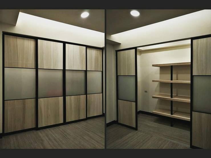 璞舍-0N.5室:  門 by 喬克諾空間設計