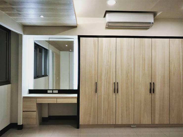 Dressing room by 喬克諾空間設計, Scandinavian