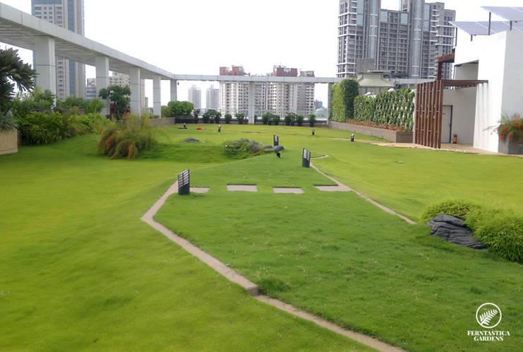 Free Flowing Garden:  Zen garden by Ferntastica Gardens Limited,Modern