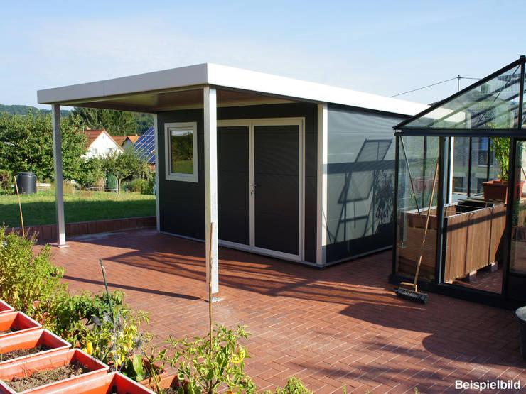 10 moderne gartenh user die dich zum staunen bringen - Gartenhaus isoliert ...