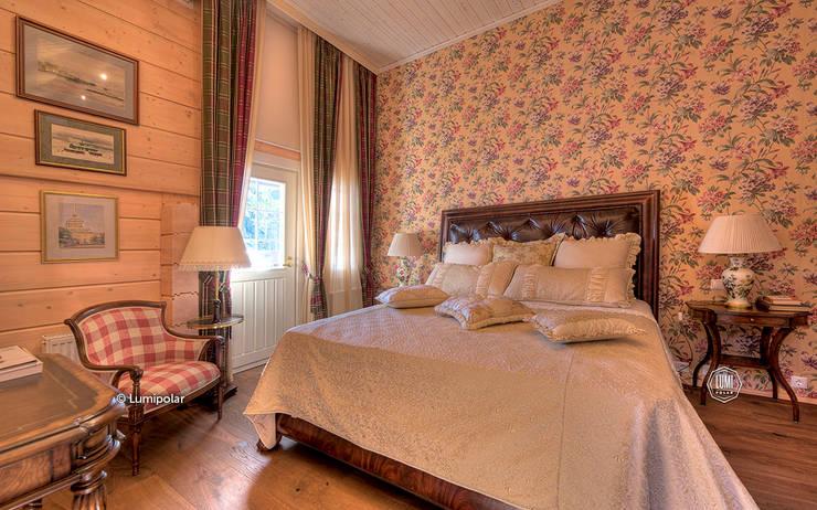 Хозяйская спальня: Спальни в . Автор – LUMI POLAR