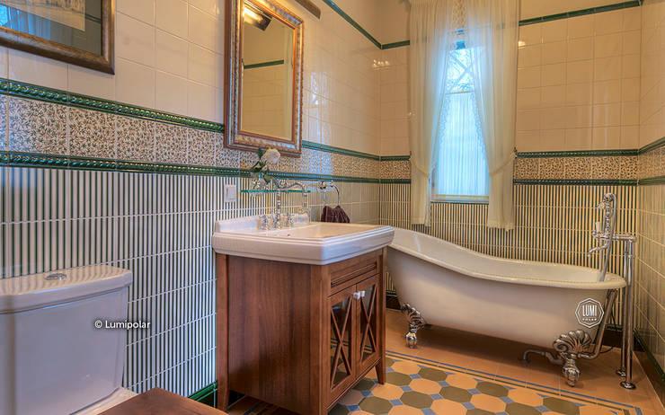 Ванная комната : Ванные комнаты в . Автор – LUMI POLAR