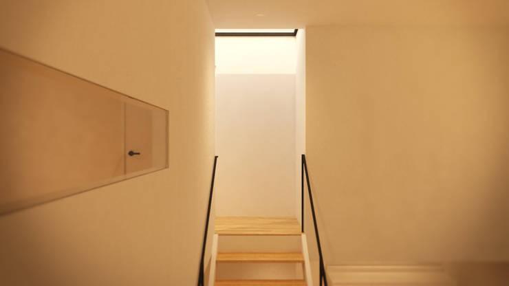 내부 계단을 통해 이어지는 상층부 진입구 : ARA의  계단