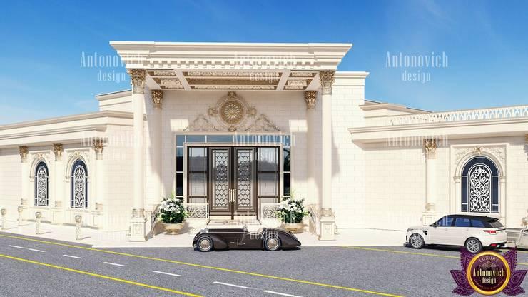 Architectural design solutions of Katrina Antonovich:  Houses by Luxury Antonovich Design, Classic