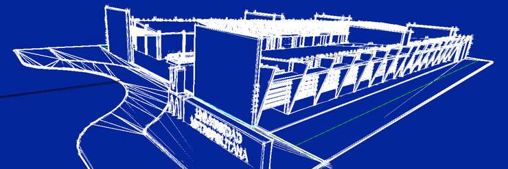 3D CONCEPTUAL:  de estilo  por JOSE RAFAEL FERERO ARQUITECTO