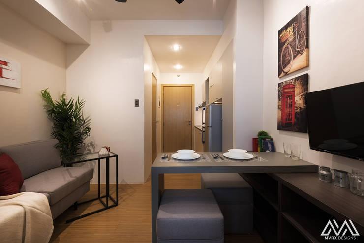 SMDC Grace: modern Dining room by MVRX Designs
