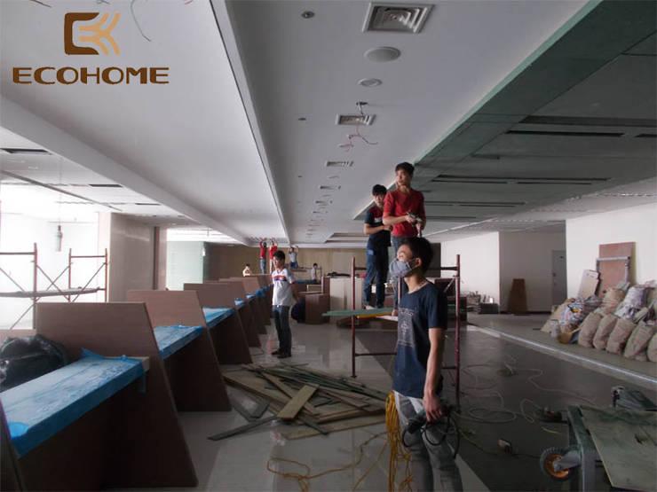 Thi công nội thất ngân hàng Woori Bank Hàn Quốc :   by Công Ty TNHH Xây Dựng & Nội Thất ECO Việt Nam