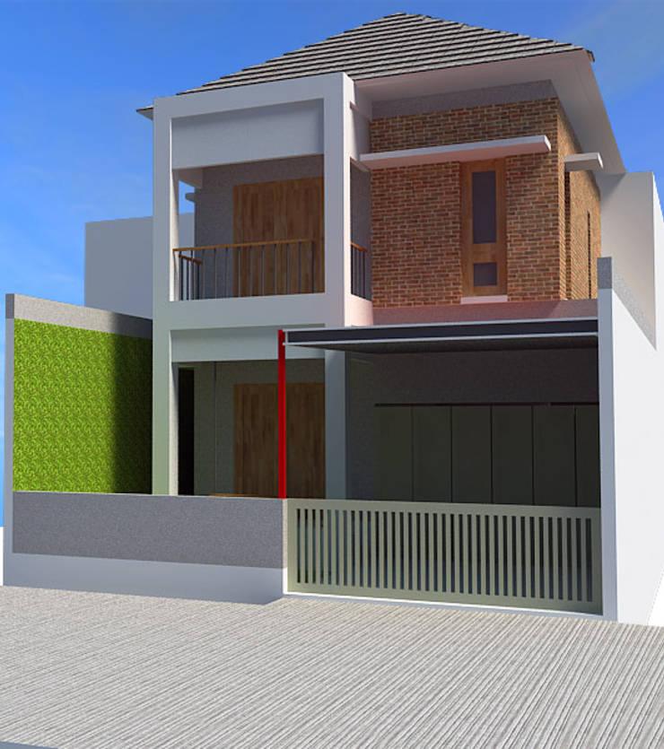Cimahi Lestari House:  Rumah tinggal  by Kahuripan Architect