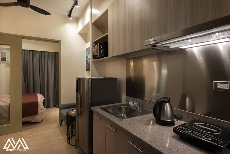 Touch of Modern - Laureano Di Trevi Tower 2:  Kitchen by MVRX Designs