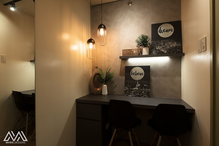 Touch of Modern—Laureano Di Trevi Tower 2:  Dining room by MVRX Designs
