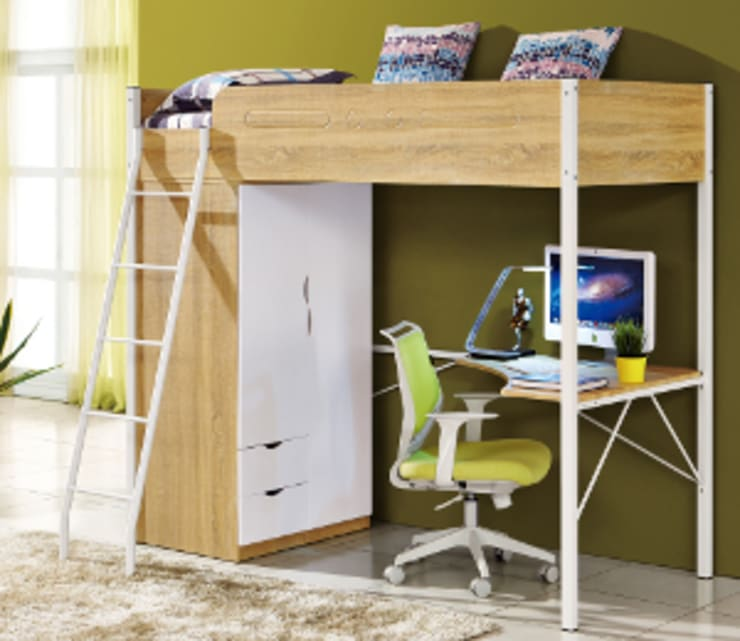 Multi Function Bed: modern  by Space Transformers, Modern Wood Wood effect