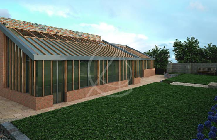 Casas unifamilares de estilo  de Comelite Architecture, Structure and Interior Design ,