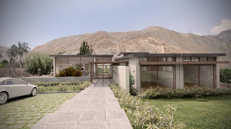 Casa ''La Pendiente'': Casas de estilo  por Artem arquitectura