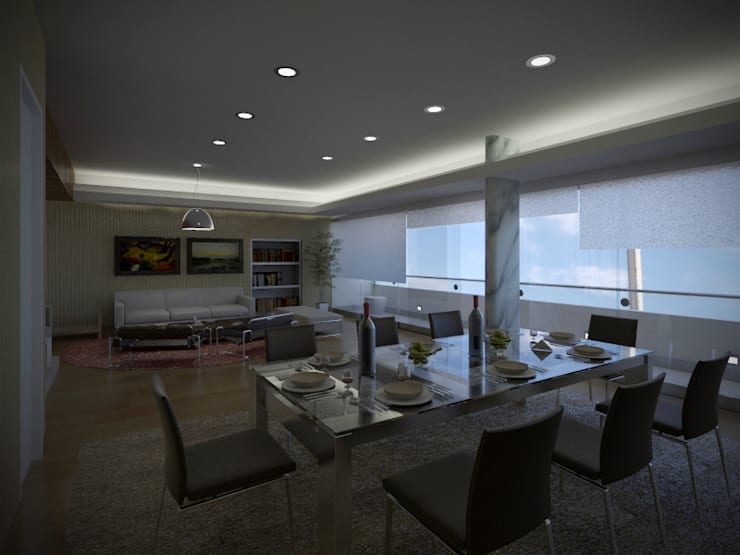Dining room by Artem arquitectura
