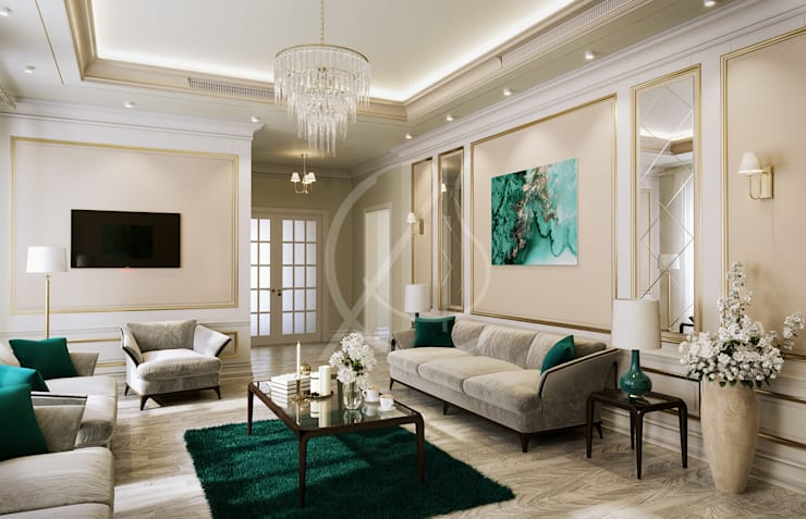 American Style House Interior Design By Comelite