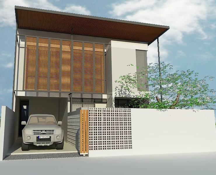 Sarimanah House:  Rumah tinggal  by Kahuripan Architect