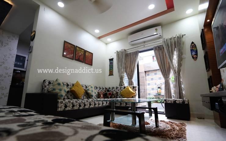 Row house interior design work in Pashan Pune: modern  by Designaddict,Modern