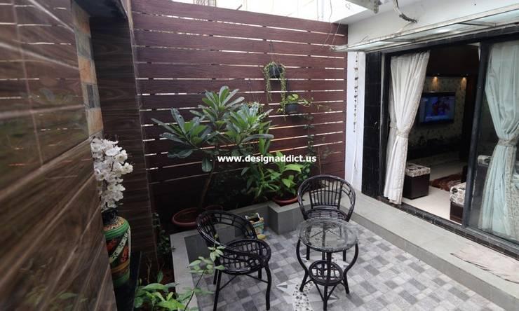 Row house interior design work in Pashan Pune: classic  by Designaddict,Classic Granite