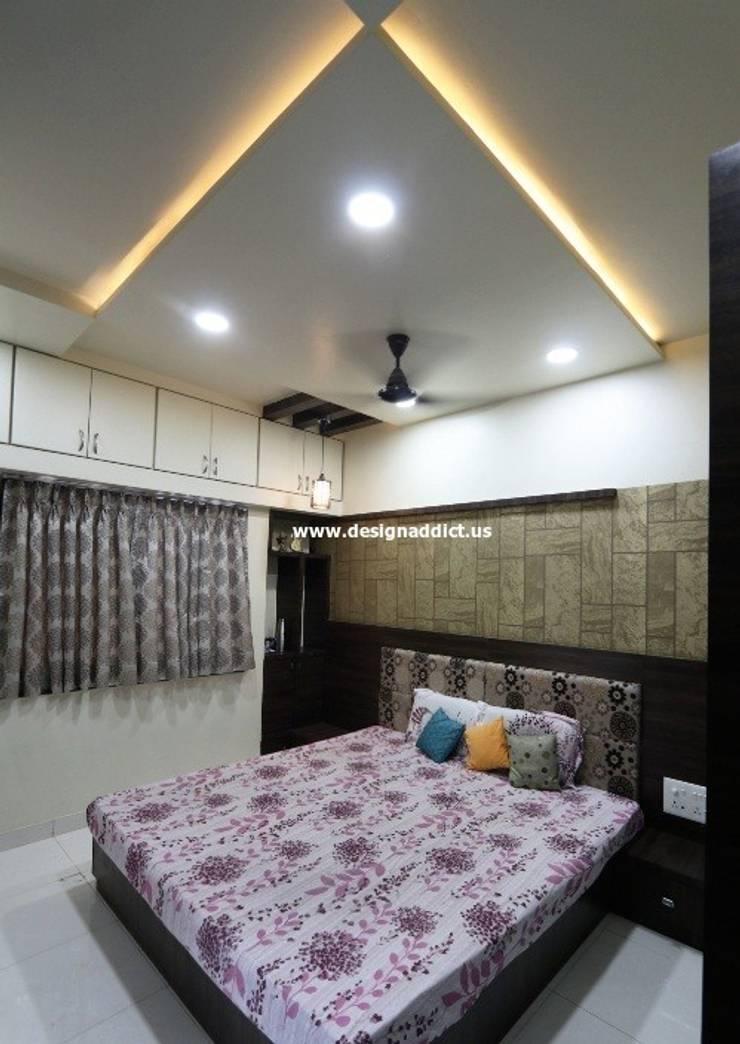 Row house interior design work in Pashan Pune: modern  by Designaddict,Modern Wood Wood effect