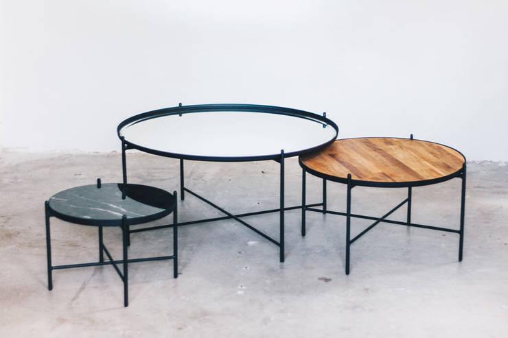Mesa láctea Espejo de TopList Moderno Hierro/Acero