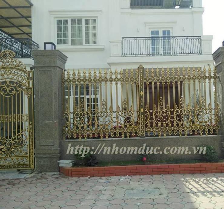 Hàng rào nhôm đúc đẹp:   by Công ty cổ phần nhôm đúc Fuco