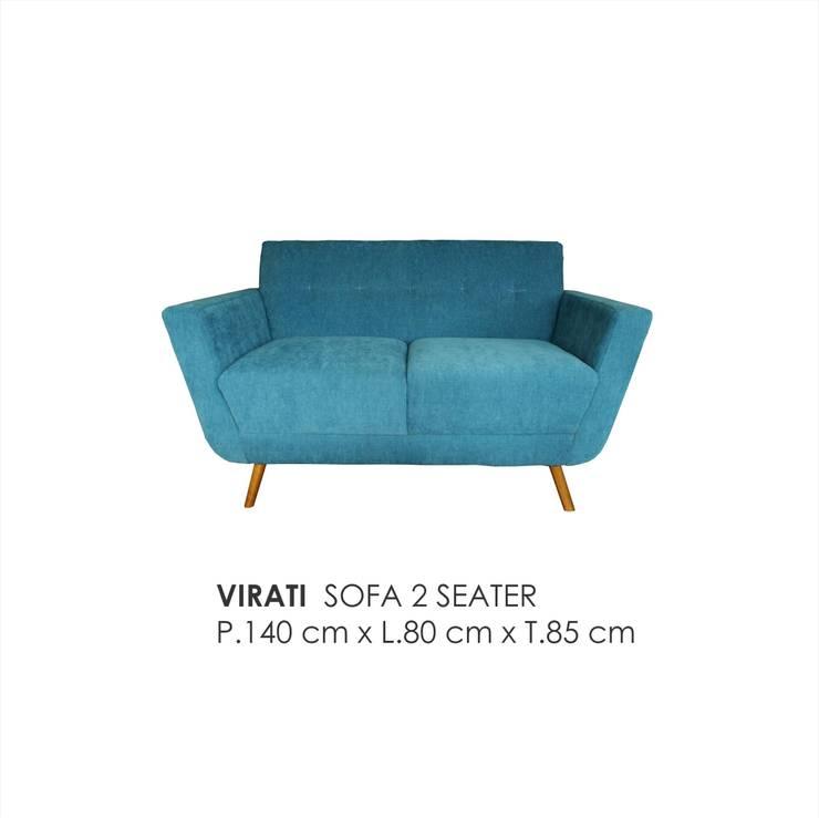 scandinavian Living room by VIKU FURNITURE & INTERIOR DESIGN