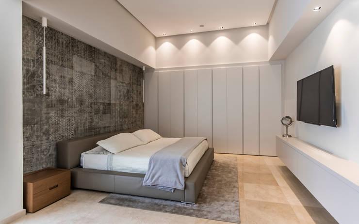 Dormitorio principal - Acabados: Dormitorios de estilo  por Design Group Latinamerica