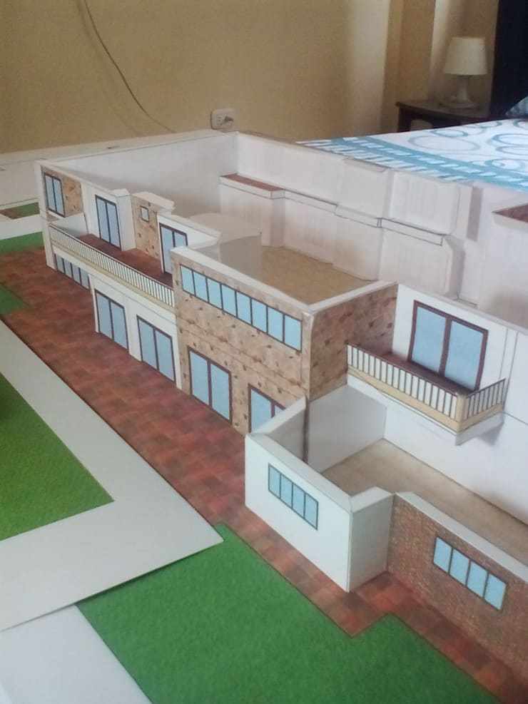 Maquetas Papercraft:  de estilo  por Arquitecto Mauricio García,