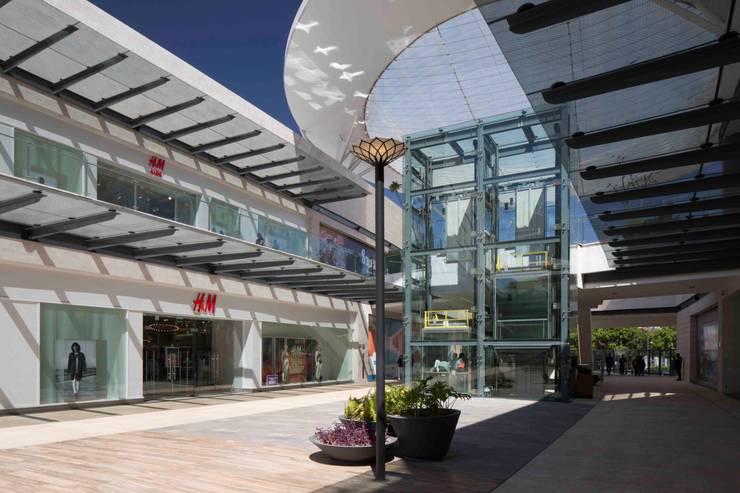 Puerta la Victortia - Grow Arquitectos: Paisajismo de interiores de estilo  por Grow Arquitectos