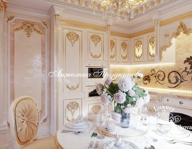 Projekty,  Salon zaprojektowane przez Дизайн-студия элитных интерьеров Анжелики Прудниковой