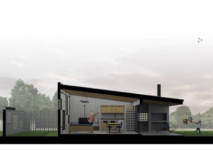 Casa DN :  de estilo  por Estudio Enlace