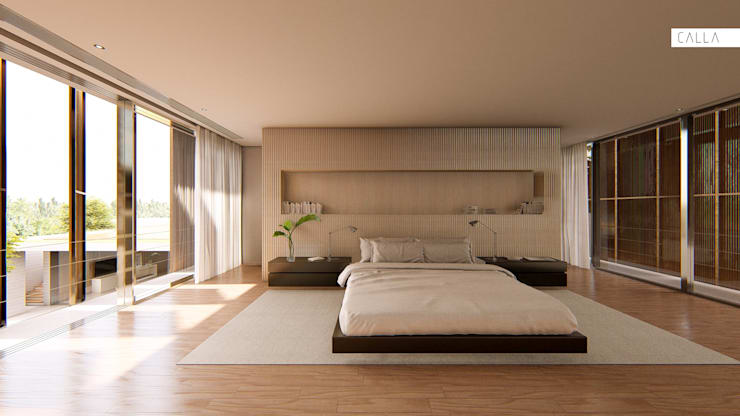 Bedroom by Studio Calla Arquitetura