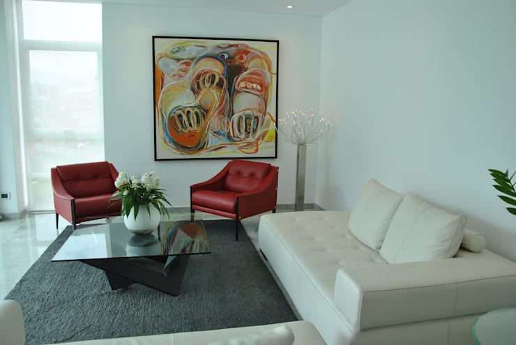 Living room by Design Group Latinamerica