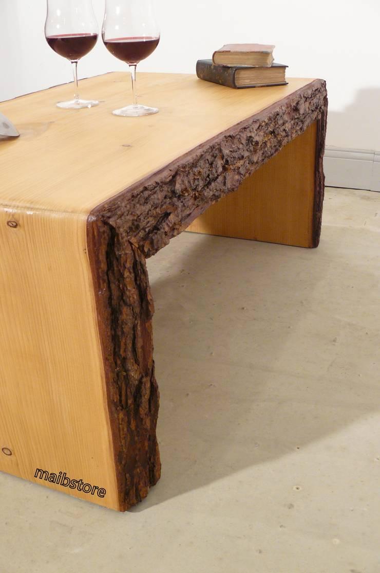 en soldes 8be4e bb6c9 Table basse live edge bois brut massif by mai.b.store | homify