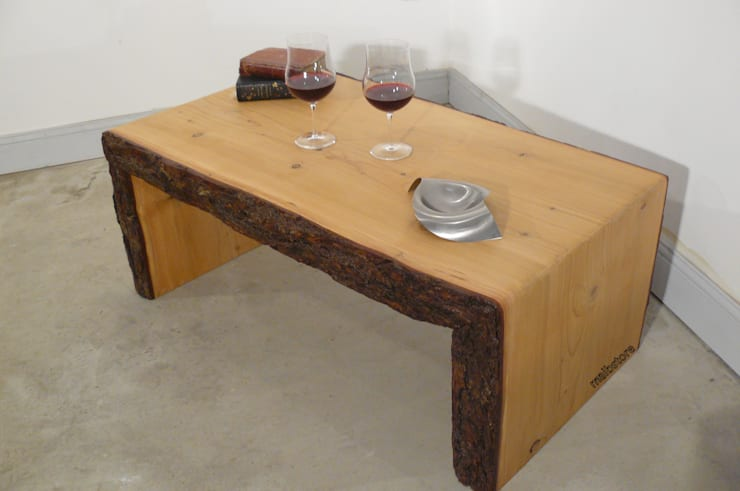 Table Basse Live Edge Bois Brut Massif By Mai B Store Homify