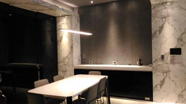 餐廳:  餐廳 by 勻境設計 Unispace Designs