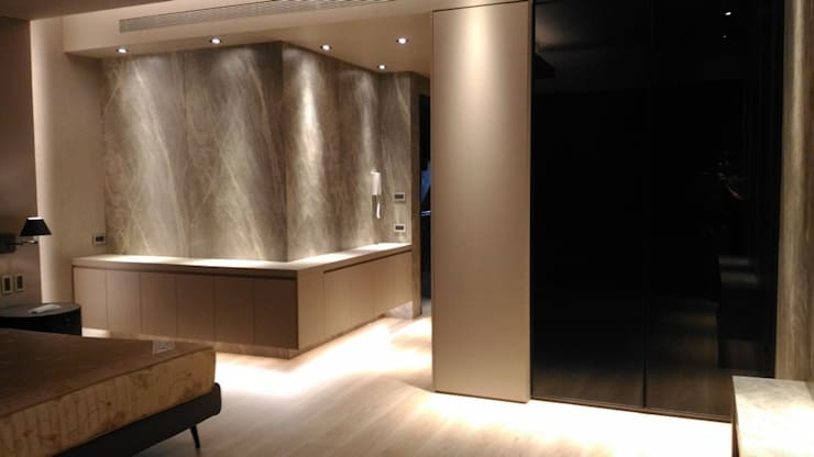 Bedroom by 勻境設計 Unispace Designs, Modern